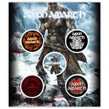 Buy Viking Art (Button Pin Set) by Amon Amarth