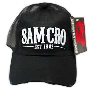 Buy SAMCRO Trucker Hat by SONS OF ANARCHY