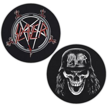 Slayer Pentagram / Wehrmacht Slipmat Set