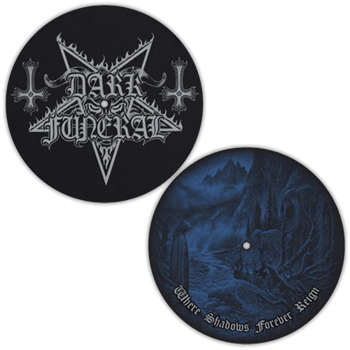 Dark Funeral Pentagram Logo / Where Shadows Slipmat Set