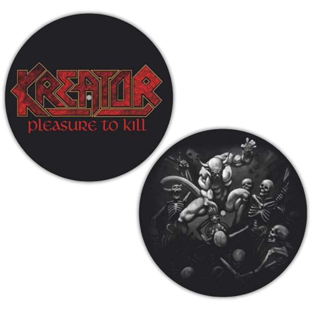 Pleasure to Kill / Album Artwork Slipmat Set