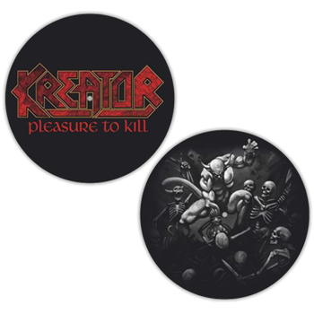 Kreator Pleasure to Kill / Album Artwork Slipmat Set