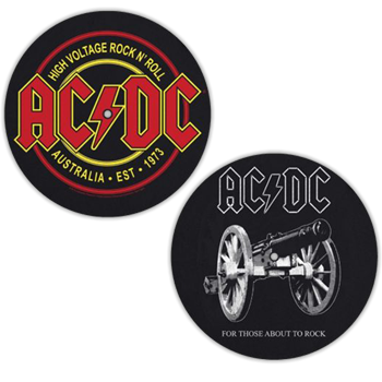 AC/DC For Those About To Rock / High Voltage Slipmat Set
