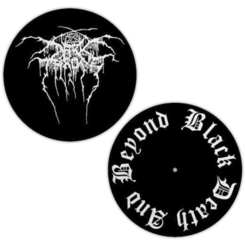 Darkthrone Logo / Black Death And Beyond Slipmat Set