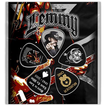 Motorhead Lemmy Stone Deaf Forever Guitar Pick Set