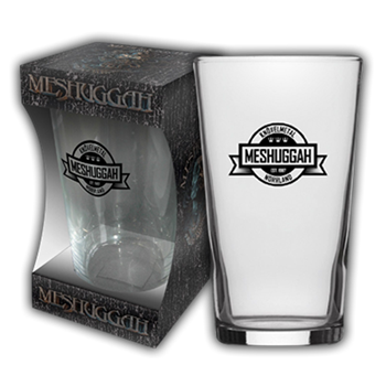 Buy Crest Beer Glass by Meshuggah
