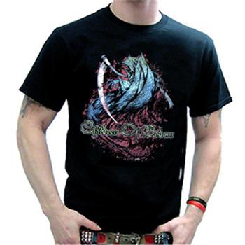 Buy Green And Blue Reaper T-Shirt by Children Of Bodom