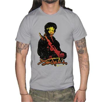 Buy Sunset Grey T-Shirt by Jimi Hendrix