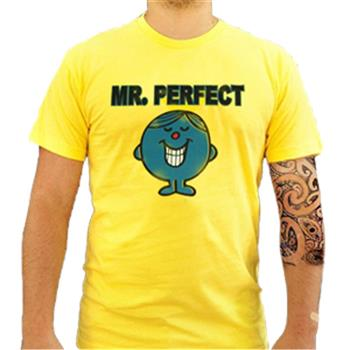 Buy Mr. Perfect Yellow by MR. MEN
