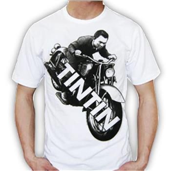 Buy Motorcycle White by tin tin