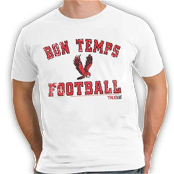 Buy Bon Temps Football T-Shirt by True Blood