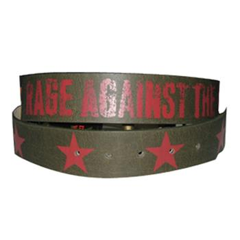 Rage Against The Machine Red Stars Belt