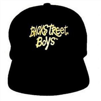 Backstreet Boys Hat - Gold Name Black Hat
