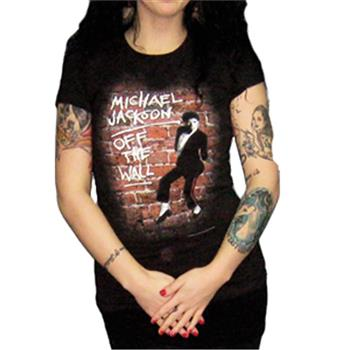 Buy Off The Wall T-Shirt by Michael Jackson