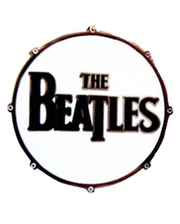 Beatles Drum Logo Buckle