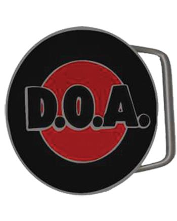 D.O.A. Red Border Buckle