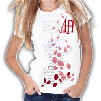 Buy Lyrics And Leaves T-Shirt by AFI