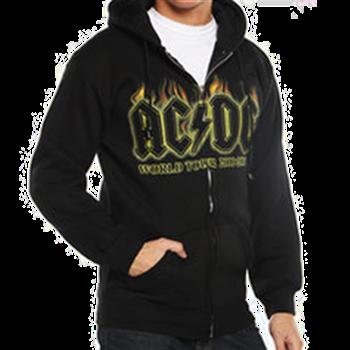 AC/DC Hell's Bells Zip Hoodie