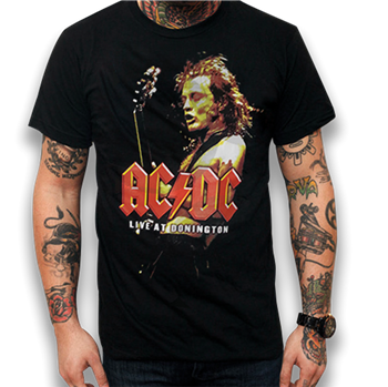 Buy Live At Donington T-Shirt by AC/DC