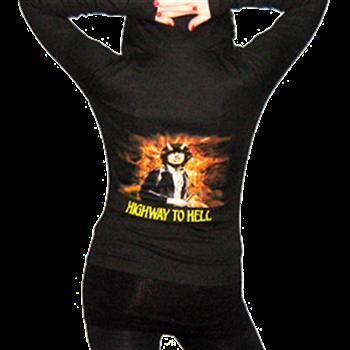 AC/DC Highway To Hell Women's Zip Hoodie