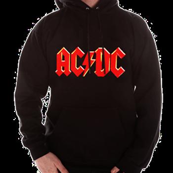 Buy Red Logo Zip Hoodie by AC/DC