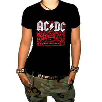 AC/DC Rock N Roll Train T-Shirt