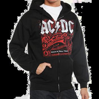 Buy Rock N Roll Train Zip Hoodie by AC/DC