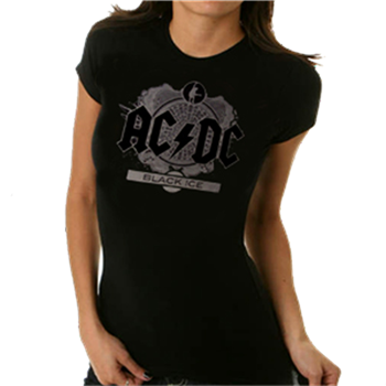 AC/DC Black Ice Foil T-Shirt