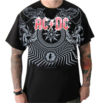 AC/DC Black Ice Allover