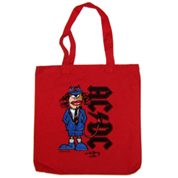 Buy Red Angus Tote Bag by AC/DC