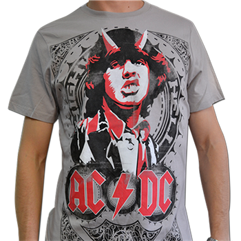 Buy Highway To Hell Angus T-Shirt by AC/DC