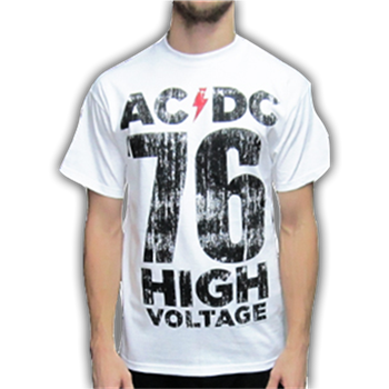 AC/DC High Voltage 76 (white)