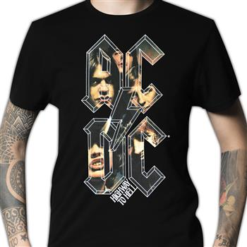 Buy Highway To Hell Letters T-Shirt by AC/DC