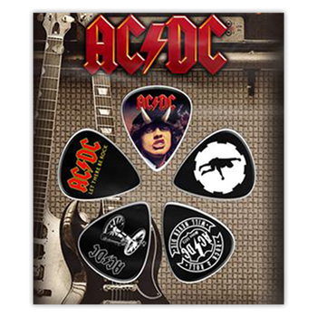 AC/DC Rock & Roll Will Never Die (Guitar Pick Set)