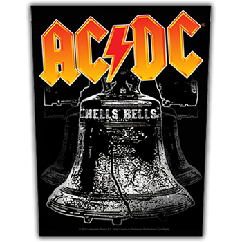 AC/DC Hells Bells Backpatch
