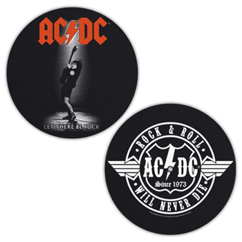 Buy Let There Be Rock / Rn'R Will Never Die Slipmat Set by AC/DC
