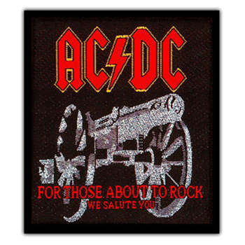 Buy Cannon Patch by AC/DC
