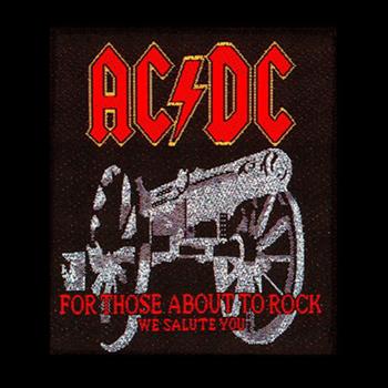 AC/DC Cannon Patch