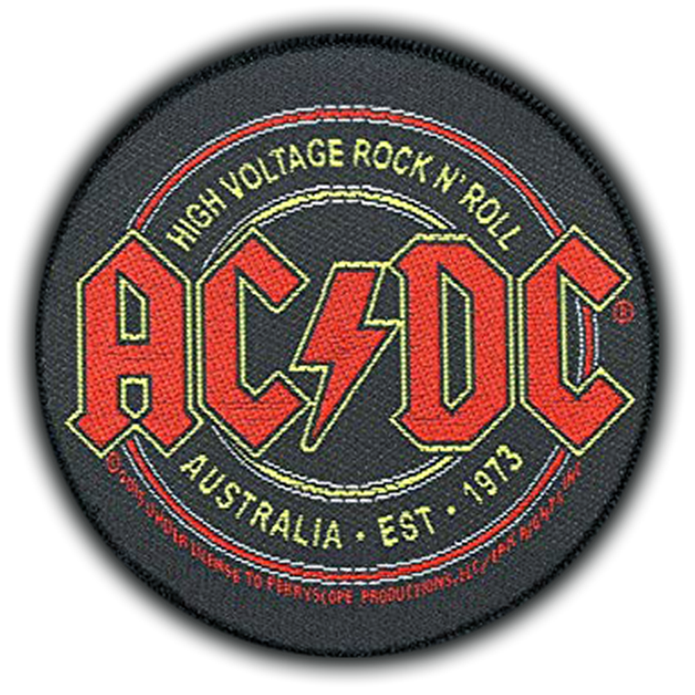 High Voltage Rock 'N Roll Patch