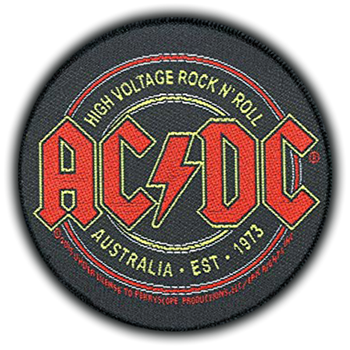 AC/DC High Voltage Rock 'N Roll Patch