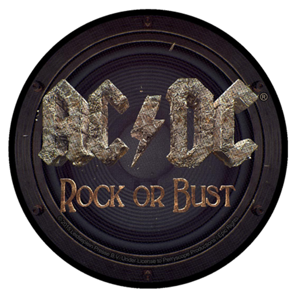 Rock Or Bust Patch