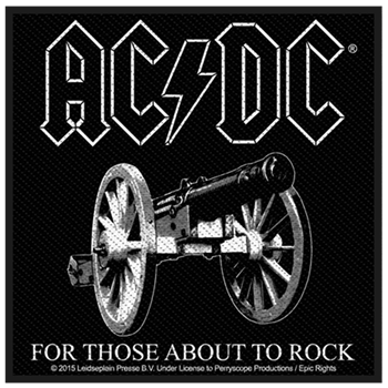 Buy For Those About To Rock Patch by AC/DC