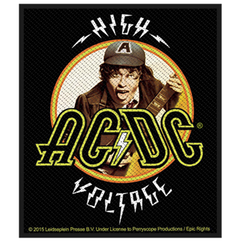 Buy High Voltage Close Up Patch by AC/DC