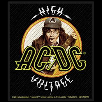 AC/DC High Voltage Close Up Patch