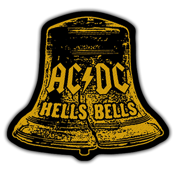 AC/DC Hells Bells Cutout Patch