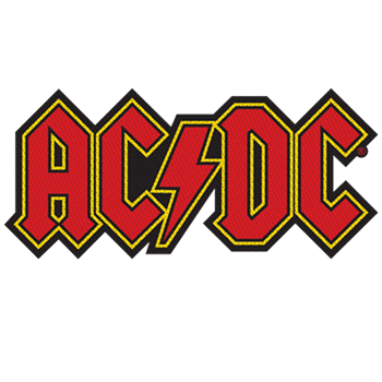 AC/DC Logo Cut-out Patch