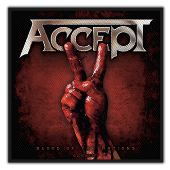 Buy Blood Of The Nations Patch by Accept