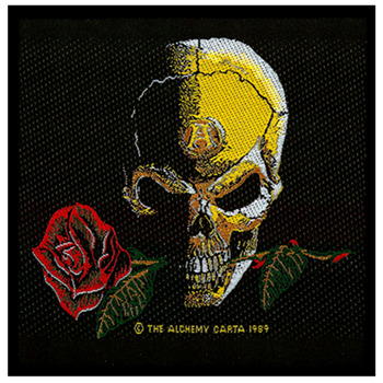 Alchemy Skull and Rose Patch