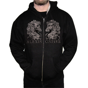 Buy Horses Zip Hoodie by Alexisonfire
