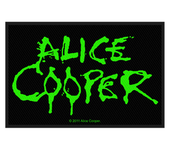 Alice Cooper Green Logo Patch
